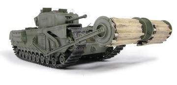 Churchill Mk.IV w.Carpet Layer (TypeB) Twi · AF DH96010 ·  AFV-Club · 1:35