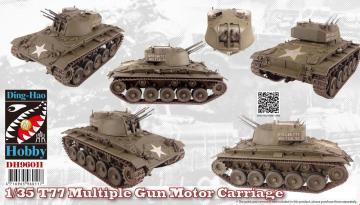 T77 Multiple Gun Motor Carriage · AF DH96011 ·  AFV-Club · 1:35