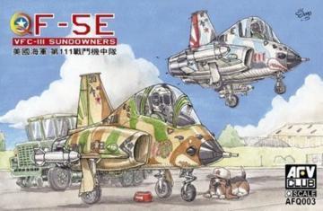 Q-F-5E VFC-III Sundowners · AF Q003 ·  AFV-Club