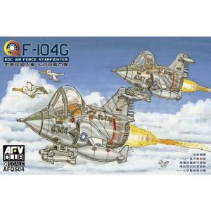 Q F104 Starfighter (2 kits) · AF QS04 ·  AFV-Club