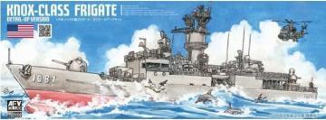 Knox Class Frigates - Super Detail-Up Version · AF SE70003 ·  AFV-Club · 1:700