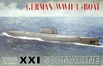 U-BOAT XXI · AF SE73501 ·  AFV-Club · 1:350