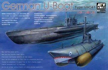 U Boat Type 7C41 · AF SE73504 ·  AFV-Club · 1:350