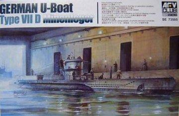 U Boat Type 7D · AF SE73505 ·  AFV-Club · 1:350