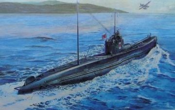 Japanese type I-58 submarine · AF SE73507 ·  AFV-Club · 1:350