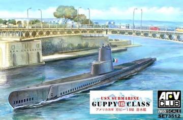 Guppy 1B · AF SE73512 ·  AFV-Club · 1:350