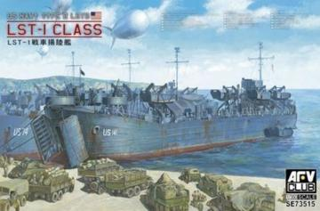 US WW2 LST-1 Class · AF SE73515 ·  AFV-Club · 1:350