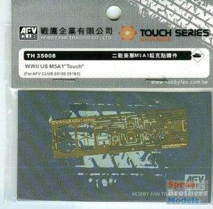Super-details set for M5A1 · AF TH35008 ·  AFV-Club · 1:35