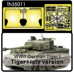 Super-details set for Tiger I (late) · AF TH35011 ·  AFV-Club · 1:35
