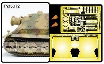 Super-details set for Sturmtiger (late) · AF TH35012 ·  AFV-Club · 1:35
