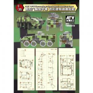 ROC Tifv Camouflage Specialized Masking Tape · AF TW60019 ·  AFV-Club · 1:35