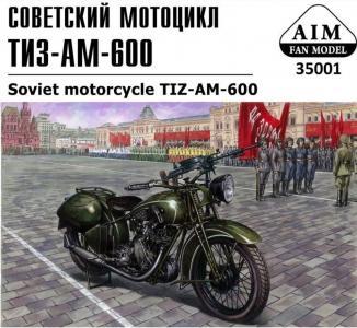 TIZ-AM-600 Soviet motorcycle · AIM A35001 ·  AIM Fan Model · 1:35