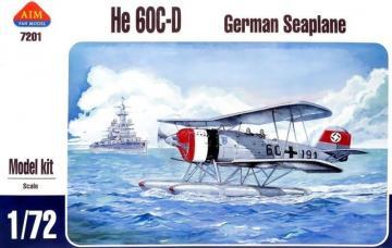 German seaplane He-60C-D · AIM A7201 ·  AIM Fan Model · 1:72