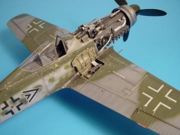 Focke-Wulf Fw 190 D - Gun bay [Hasegawa] · AIR 2025 ·  Aires · 1:32