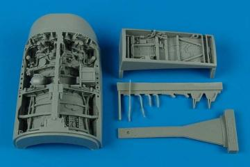 F-16C Fighting Falcon - Wheel Bay [Academy] · AIR 2056 ·  Aires · 1:32