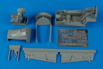 F-8E/H Crusader - Cockpit set [Trumpeter] · AIR 2088 ·  Aires · 1:32
