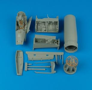 F-8J Crusader - Detail Set [Trumpeter] · AIR 2100 ·  Aires · 1:32