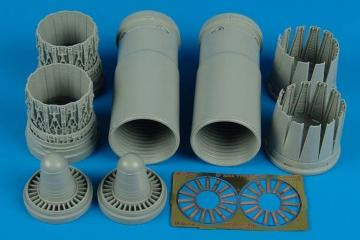 EF 2000A early - Exhaust nozzles [Trumpeter] · AIR 2119 ·  Aires · 1:32