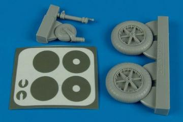 Messerschmitt Bf 109 F - Wheels & masks [Trumpeter] · AIR 2138 ·  Aires · 1:32
