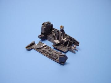 Junkers Ju-88 A-4 - Cockpit set [Revell] · AIR 4052 ·  Aires · 1:48