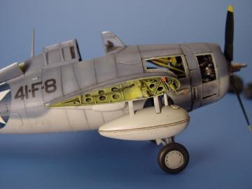 F4F-4 Wildcat - Wingfold set [Tamiya] · AIR 4053 ·  Aires · 1:48