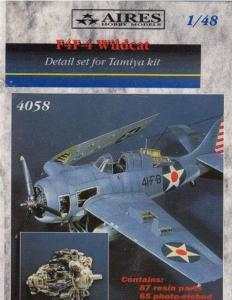 F4F-4 Wildcat - Detail set [Tamiya] · AIR 4058 ·  Aires · 1:48