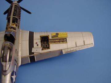 P-51D Mustang - Gun bay [Tamiya] · AIR 4082 ·  Aires · 1:48