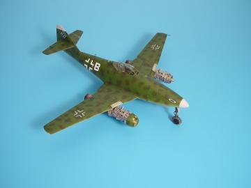 Messerschmitt Me 262 A - Engine set [Tamiya] · AIR 4145 ·  Aires · 1:48