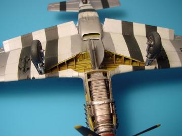 P-51B/C - Wheel bay · AIR 4186 ·  Aires · 1:48