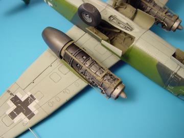 Arado Ar 234B Blitz - Engine Detailset [Hasegawa] · AIR 4205 ·  Aires · 1:48