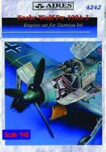 Focke-Wulf Fw 190 A-3 Engine set [Tamiya] · AIR 4242 ·  Aires · 1:48