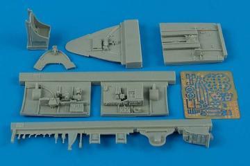 F6F-5 Hellcat - Cockpit set [Eduard] · AIR 4394 ·  Aires · 1:48