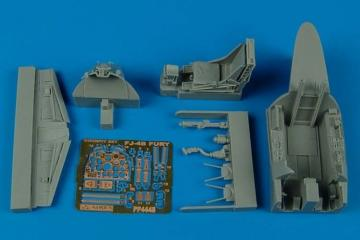 Fj-4B Fury - Cockpit set [HobbyBoss] · AIR 4448 ·  Aires · 1:48