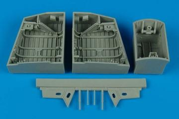 English electric Canberra - Wheel bay [Airfix] · AIR 4453 ·  Aires · 1:48