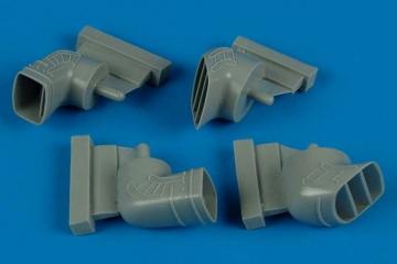 Harrier GR.5/7 - Exhaust nozzles [Hasegawa] · AIR 4469 ·  Aires · 1:48
