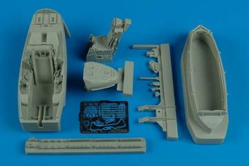 F/A-22 Raptor - Cockpit set [Hasegawa] · AIR 4480 ·  Aires · 1:48