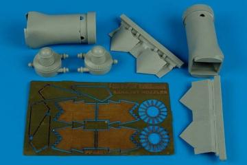 F/A-22 Raptor - Exhaust nozzles-closed [Hasegawa] · AIR 4481 ·  Aires · 1:48