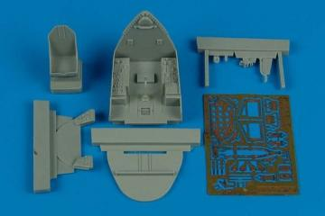 F4U-7 Corsair - Cockpit set [Hasegawa] · AIR 4482 ·  Aires · 1:48
