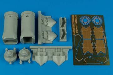 F-22A Raptor - Exhaust nozzles-opened [Hasegawa] · AIR 4484 ·  Aires · 1:48