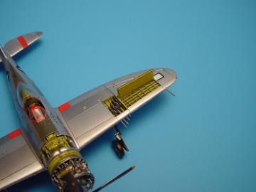 P-47D Thunderbolt - Gun bay · AIR 7089 ·  Aires · 1:72