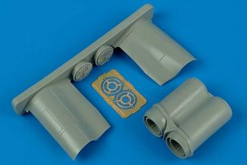 BAC Lightning F.6/F.2A - Exhaust nozzles [Trumpeter] · AIR 7213 ·  Aires · 1:72
