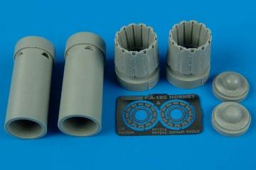 F/A-18C - Exhaust nozzles - opened [Academy] · AIR 7215 ·  Aires · 1:72