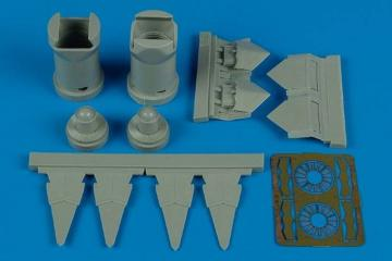 F-22A Raptor - Exhaust nozzles [Revell] · AIR 7248 ·  Aires · 1:72