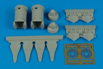 F/A-22 Raptor - Exhaust nozzles [HobbyBoss] · AIR 7250 ·  Aires · 1:72