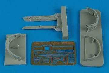 MiG-23 Flogger - Canopy frame [Trumpeter] · AIR 2140 ·  Aires Hobby Models · 1:32