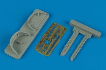 MiG-23 Flogger - Canopy frame [Trumpeter] · AIR 2143 ·  Aires Hobby Models · 1:32