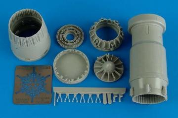 MiG-23 Flogger - Exhaust nozzle - closed [Trumpeter] · AIR 2146 ·  Aires Hobby Models · 1:32