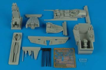 EF 2000A Typhoon - Cockpit set [Trumpeter] · AIR 2147 ·  Aires Hobby Models · 1:32