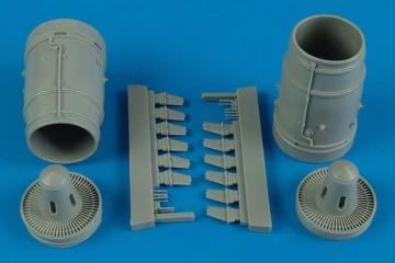Su-25K Frogfoot A - Exhaust nozzle [Trumpeter] · AIR 2155 ·  Aires Hobby Models · 1:32