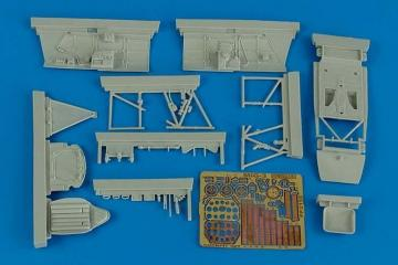 MiG-3 - Cockpit set [Trumpeter] · AIR 2158 ·  Aires Hobby Models · 1:32